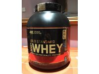 Optimum Nutrition Gold Standard Whey. 5lb Caramel Toffee Fudge