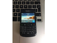 Perfect Unlocked BlackBerry Bold 9780 Black Classic Mobile Phone + USB + Charger + Sim Card