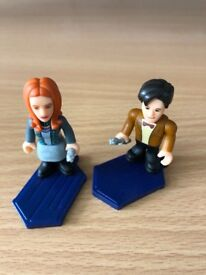 Dr Who Lego figures x 2