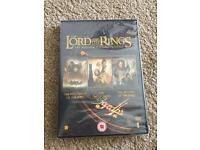 The Lord Of The Rings Trilogy DVD