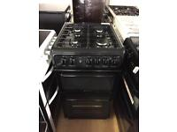 Hotpoint Black gas cooker