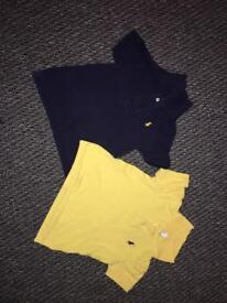 Boys genuine Ralph polo shirts 18 months