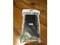 HIGHLY RESILIENT, ULTRA THIN BLACK SAMSUNG S6 EDGE PROTECTIVE CASE - NEVER OPENED