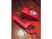 Wild and Wolf retro trim telephone