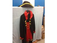 Fancy dress ladies pirate outfit size 12/14