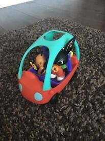 Bing and Flop Car set Cbeebies