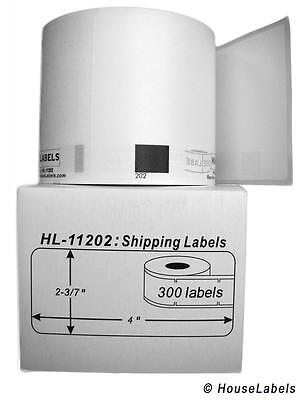 6 Rolls Of Dk-1202 Brother-compatible Shipping Labels Bpa Free