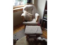Nursing Baby Rocking Chair