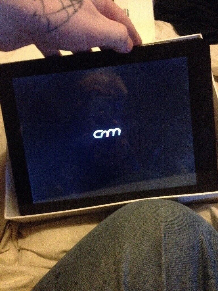 "Cnm 9.7"" android tablet (boxed)"