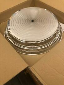 "16"" Round Napier Cake Stand (silver)"