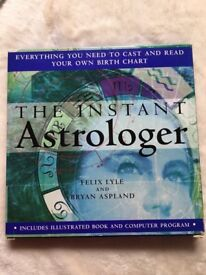 ASTROLOGER BOOK and CHART