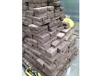 Reclaimed block paving