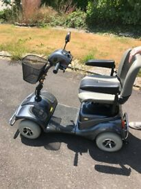Bush deluxe mobility scooter