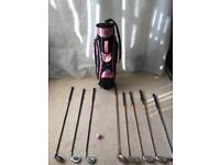 Ladies beginners golf set NANCY LOPEZ