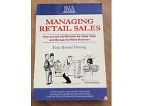 Managing Retail Sales - book for beginners
