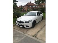 BMW 520D M-SPORT 2014 alpine white
