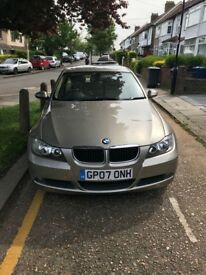 *MUST SEE QUICK SALE GOLD BMW 318 2L 2007 AUTO GOOD MILEAGE AND CONDITION CREAM LEATHER GREAT VALUE
