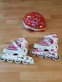 Girls skates size 8-11 adjustable