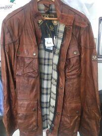 Leather coat (harrods)