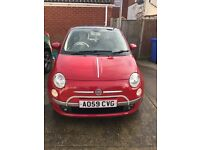 Red fiat 500 1.2 🚗 great condition, £30 a year tax, full mot with no advisories, lovely little car!