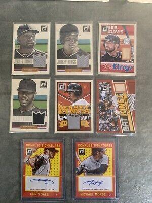 Baseball Card Auto/ Jersey/ Insert Lot!