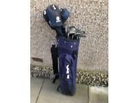 Set of Mizuno golf clubs