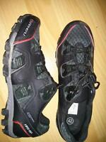 Garneau shoes and shimano pedals