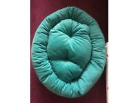 Turquoise Dog Bed - Medium/Large