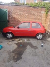 P Plate Nissan Micra