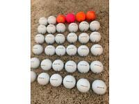 Titleist velocity balls 42 excellent condition