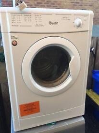 Tumble dryer vented swan 7kg