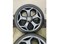 Ford ST alloy wheels