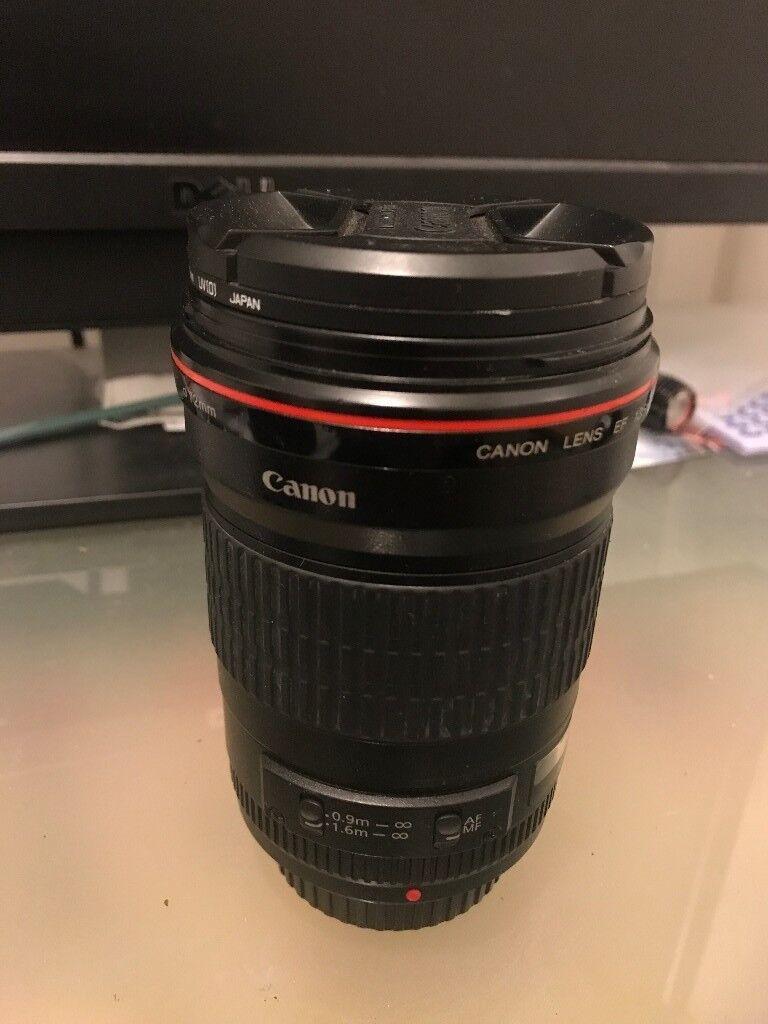 Canon 135mm F2 0L USM MINT! Fully boxed as new + Hoya Pro1 UV