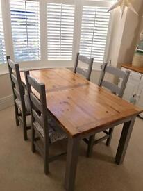 Rustic Dining Table Chairs