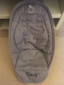 iCandy Peach Silvermint Seat Liner CAN POST