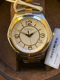 Ebel New Classic Sport Gent 1955Q41 Gold / Silver. Very Rare Watch