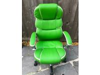 Executive office/ gaming comfortable recliner