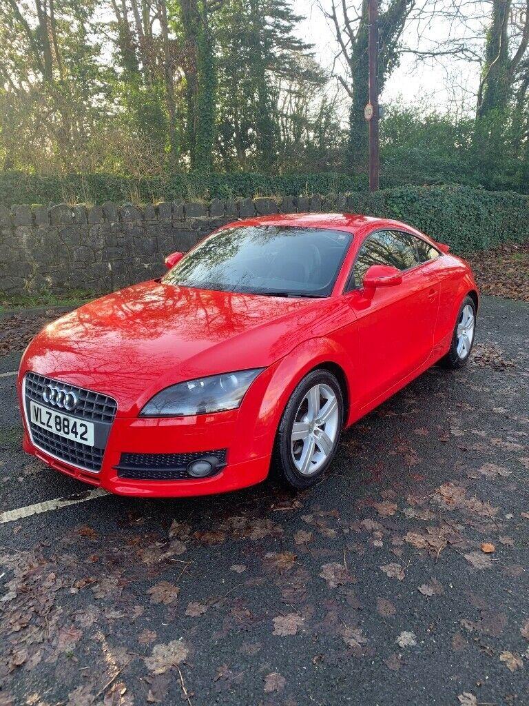 Audi TT.Low miles,Fun to drive.Eye-catching red.