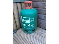 Full 13kg gas bottle