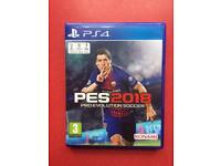 PES 2018 for PS4 Boxed