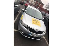 Knowsley, Rossendale And Manchester Plate Taxi, skoda, passat for track hire available immediately
