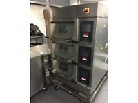 Mono 3 Deck Bakery Oven - Harmony DX Ecotouch - Steam Function