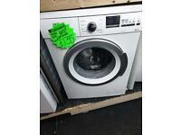 8kg load Siemens white 1400 spin washing machine