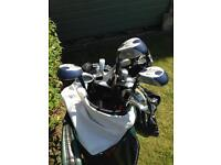 Ladies Golf Clubs and shoes