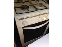 White gas cooker 50cm... Cheap free delivery
