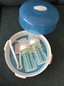 Dr Brown Sterilisers X 2 bottles