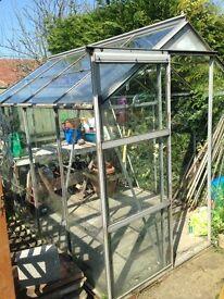 Greenhouse & potting bench