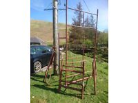 Scaffolding tower 4ft-20ft height £200
