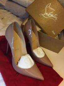Christian Louboutin So Kate 120mm Nude Heels