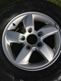 Alloy Wheel 17inch with tyre